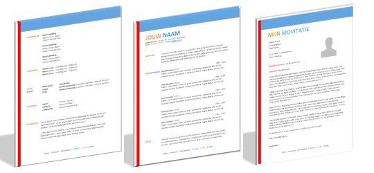Zakelijk & Formeel! Wil jij deze set gebruiken? Ga naar: http://cv-voorbeeld.nl/brief-en-cv-sets/ en solliciteer in stijl!