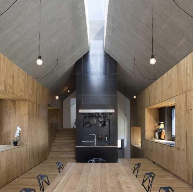 Komínový dom: Moderný odkaz na miestnu architektúru i remeslá | Rodinné domy | Stavby | Architektúra | www.asb.sk