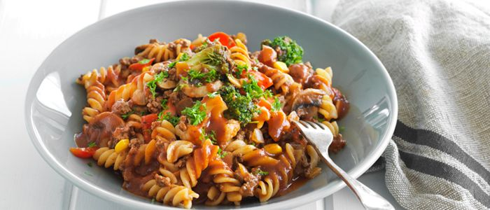 All-in-one Tasty Pasta recipe from Food in a Minute