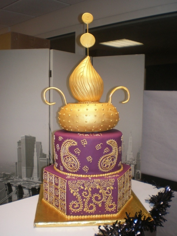 Sultane. Indian or Moroccan style cake