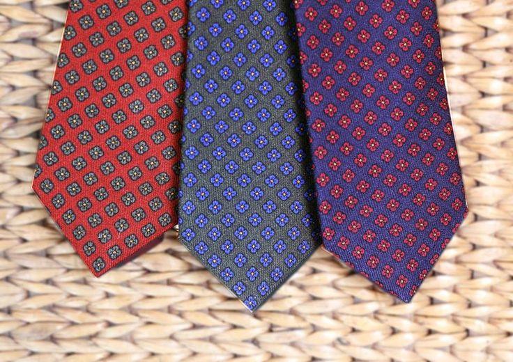 Corbatas seda flores  #flores #corbata #hombre #moda #looks #knackmen