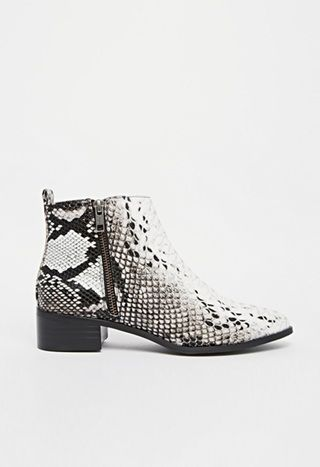 snakeskin boots                                                                                                                                                     More
