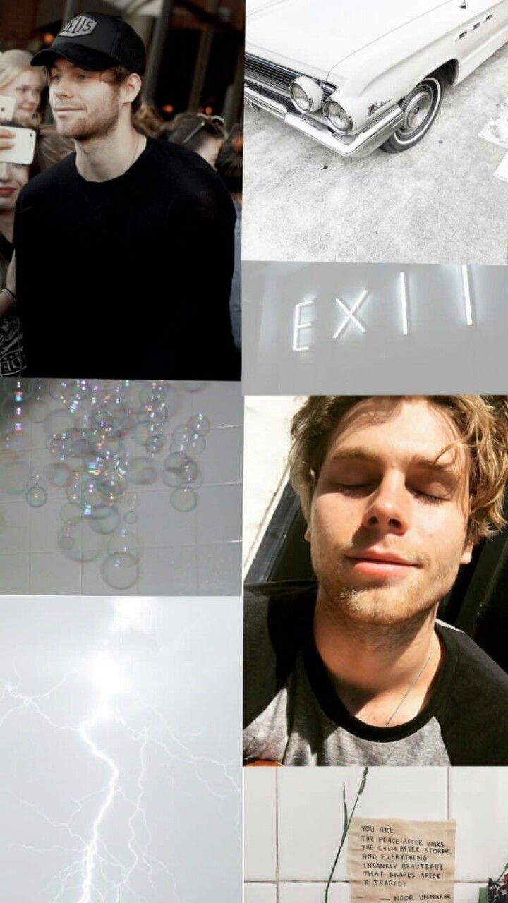 5SOS Wallpaper Luke Hemmings