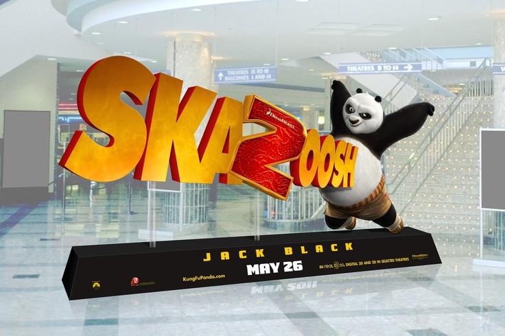 Kung Fu Panda. Spectacular Standee