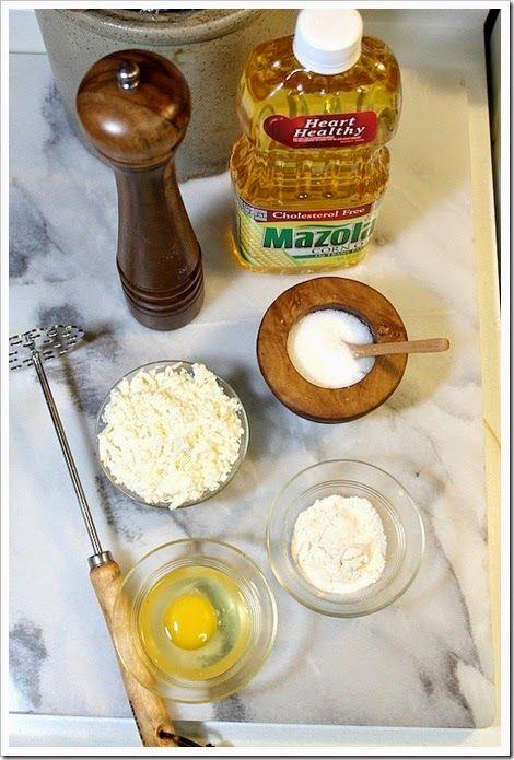 tortitas de papa y queso