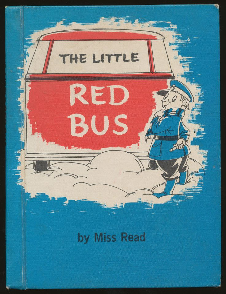 """1966 ed. of scarce Miss Read kid's bool """"THE LITTLE RED BUS"""""""