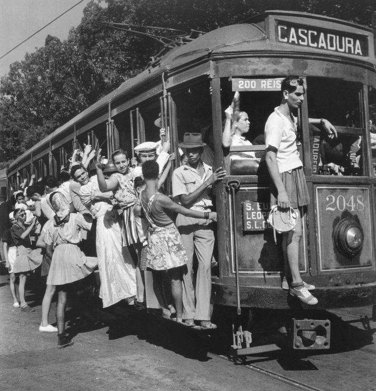 """""""Carnaval"""" - Rio de Janeiro de Pierre Verger - 1941"""