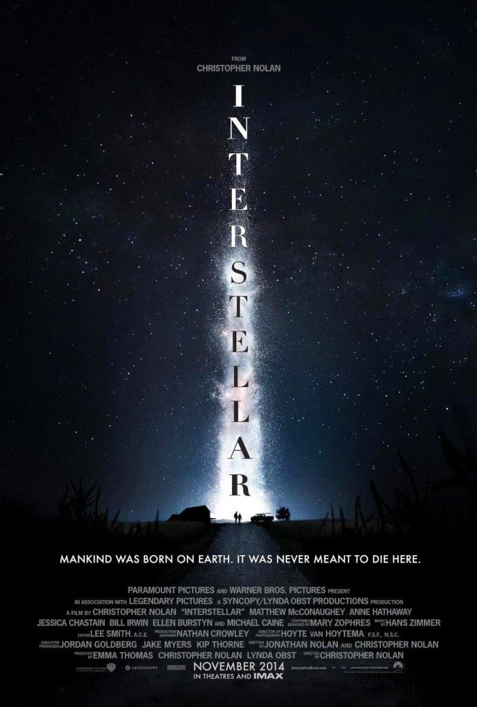 INTERSTELLAR... IMPERDIBILE AL CINEMA!