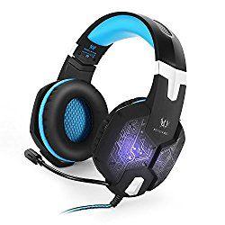 VersionTech 改良版 G1000 3.5mm ゲーミングヘッドセット ヘッドホン 高音質 ステレオ LEDライト マイク付き ゲーム用ヘッドフォン 騒音隔離&音量調節機能 PC/ラップトップなど対応 [ブルー] おすすめ度*1 厚めのイヤーマフ、柔らかいヘッドバンドクッションで装着感は良好。イヤーマフはやや蒸れやすいが、軽量で付け心地は良い。本体はLEDで光るが、同じGシリーズの中では比較的落ち着いた光り方。遮音性はそれほど高くなく、音漏れもやや目立つ。 audio-sound.hatenablog.jp 【1】外観・インターフェース・付属品 本体はAUX入出力専用でUSBケーブルは…