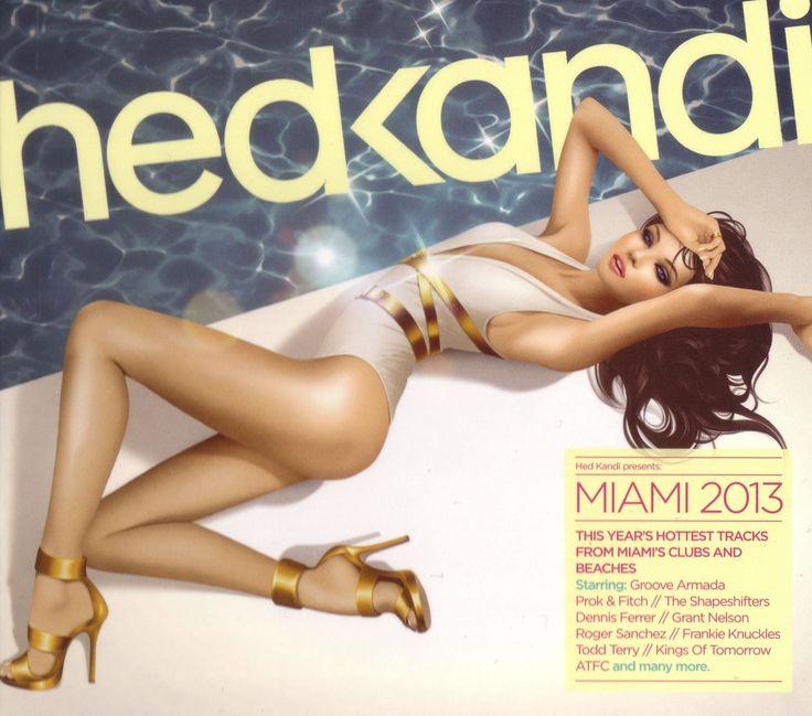 2013 Hed Kandi: Miami 2013 [Hed Kandi HEDK128] illustration by Jasper Goodall #albumcover #fashion