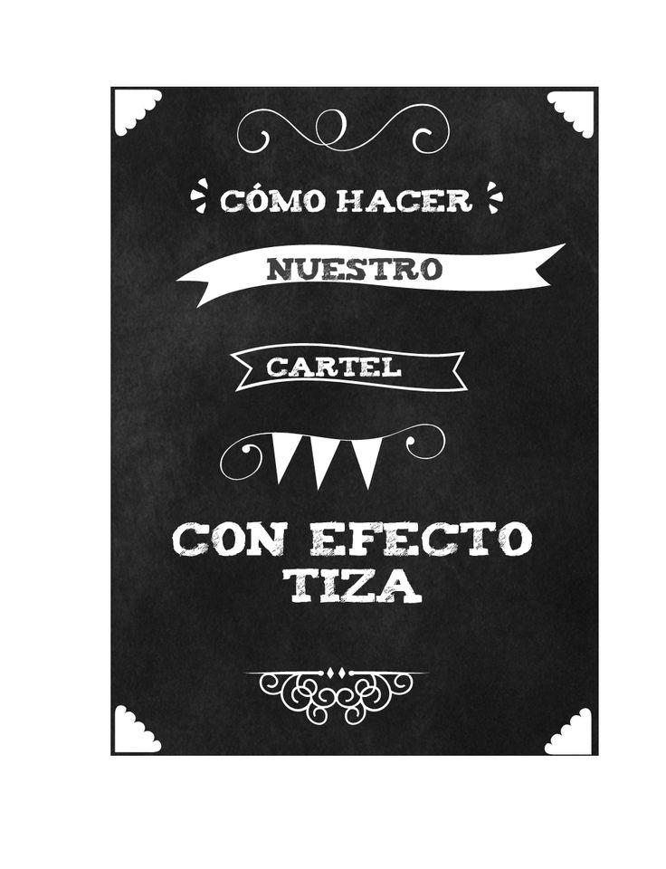 Las 25 mejores ideas sobre cartel de pizarra en pinterest - Hacer pintura pizarra ...