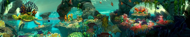 FANTASIA: MUSIC EVOLVED - Under the Sea panorama