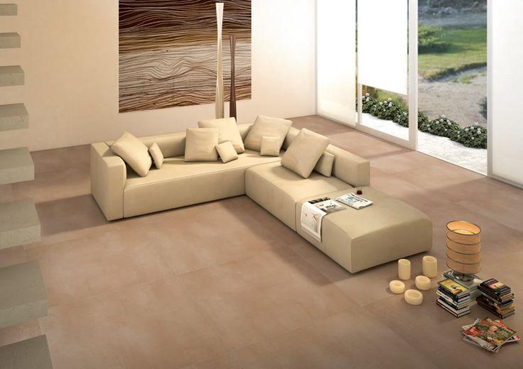 Ambientación Concrete Beige - Porcellanatos ILVA