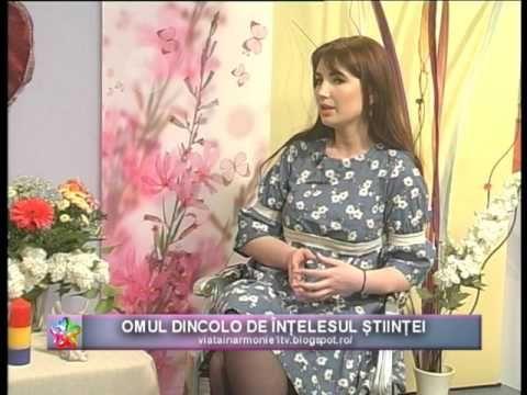 VIATA IN ARMONIE - AURELIA BALAN COJOCARU - OMUL DINCOLO DE INTELESUL STIINTEI_20.05.2017 - YouTube