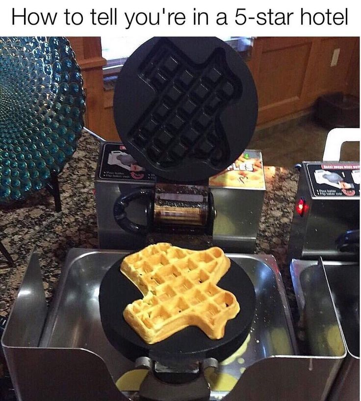 "Texas Humor (@texashumor) on Instagram: ""Texas waffle maker or I ain't stayin."" // @connor_vice"