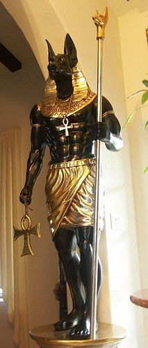 Sculpture of Anubis - Google Search