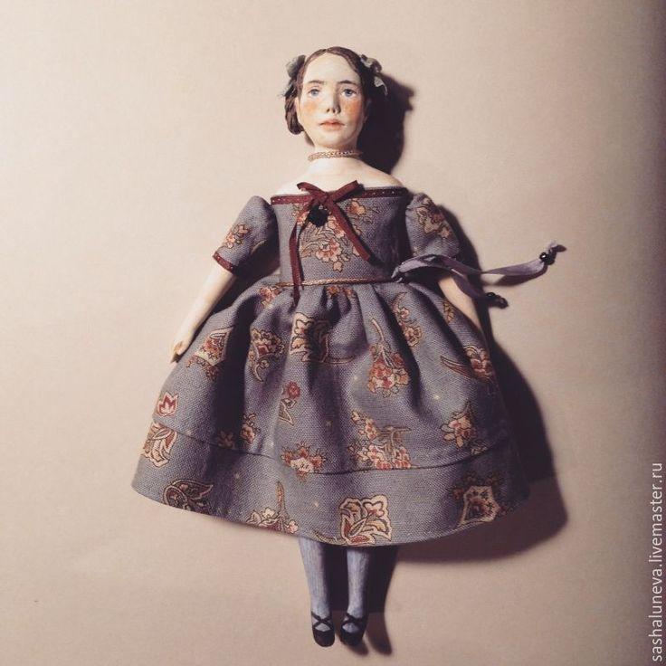 Купить Миниатюрные куклы-болтушки Энн и Диана - рыжий, коричневый, бежевый, энн из зеленых крыш