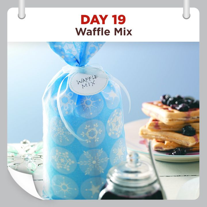 25 Days of Christmas Cheer :: Day 19 :: Waffle Mix Recipe