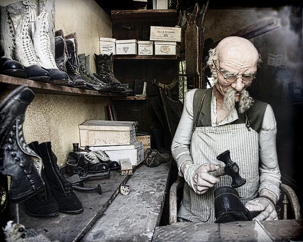The Old Shoe Cobbler