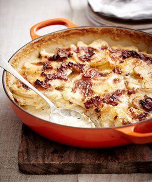 Bacon & potato bake | Le Creuset RSA recipes