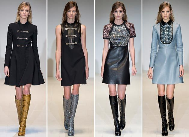 Gucci Fall/Winter 2014-2015 Collection – Milan Fashion Week  #MilanFashionWeek #MFW #fashionweek