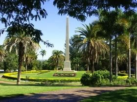 Rockhampton Botanic Gardens are regarded as one of the best in regional Australia. Excellent specimens of palms, cycads and ferns are found throughout the beautifully manicured grounds. Some specimens are over 100 years old.