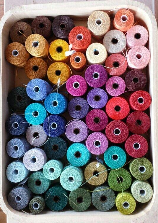 Macramè threads