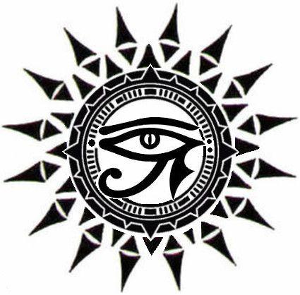 ☥Δ Ojo de Horus y Sol Δ☥