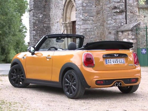 Vidéos Mini Cooper S cabrio