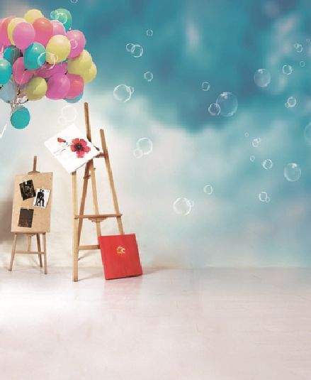 Vinyl 3x5ft Photography Backdrops Balloon Theme Scene Background For