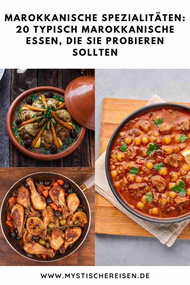 Pin auf Marokkanische Rezepte