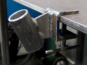 Torch Holder Clamp:
