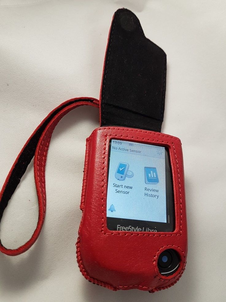 Details about <b>Genuine Leather</b> Case for Libre glucose monitoring ...