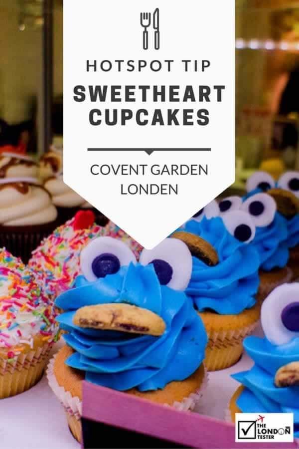 Sweetheart Cupcakes Londen: Een Zoete Pitstop in Covent Garden    The London Tester