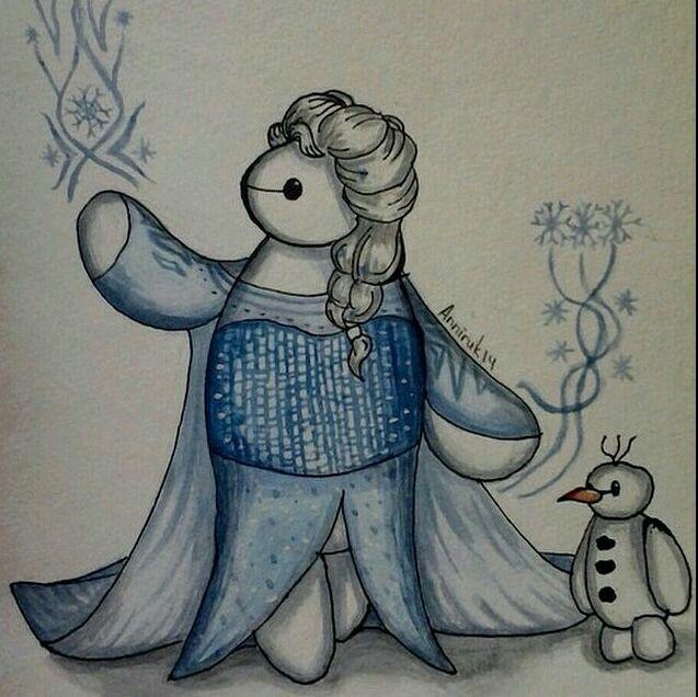 Frozen/Big hero 6 Mashup!