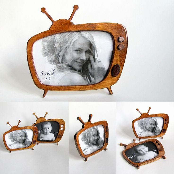 "Table frame for photo 4"" x 6"" #frame #frames #photoframe #handmade #tableframe #woodenphotoframes #woodframe #retro #tv"