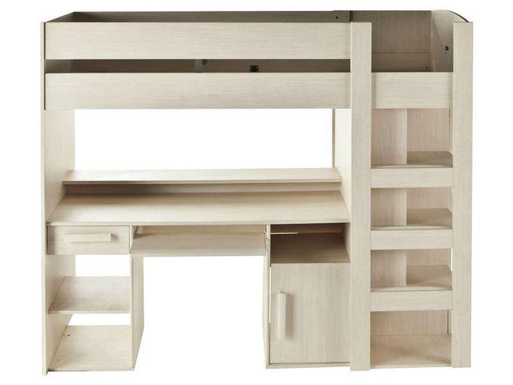 les 34 meilleures images du tableau lit mezzanine bureau sur pinterest lits mezzanine chambre. Black Bedroom Furniture Sets. Home Design Ideas