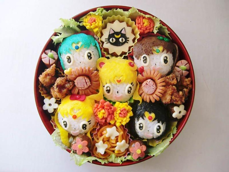10 best bento box images on pinterest bento food bento lunchbox image detail for sailor moon bento box forumfinder