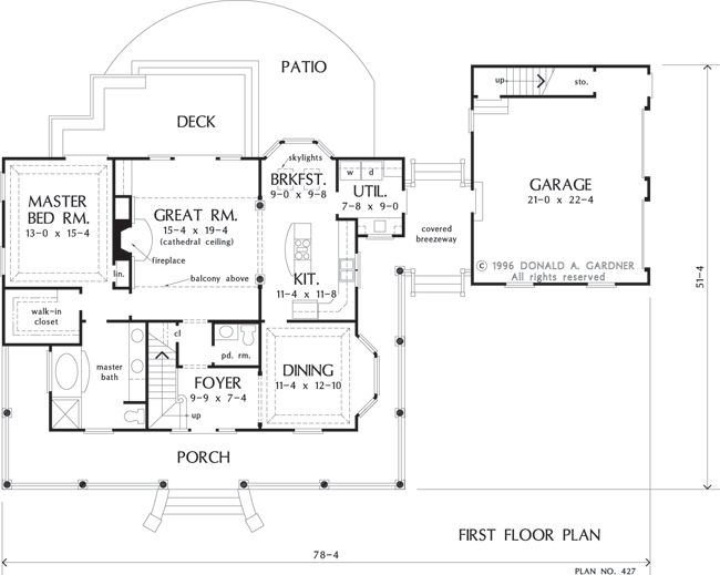 Home improvement taylor house floor plan - Residence principale don taylor design ...