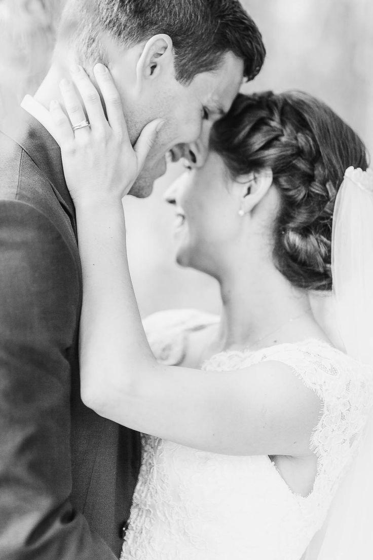 Elegant fine art wedding photography kent - black and white couple portrait at St Julians Club Sevenoaks