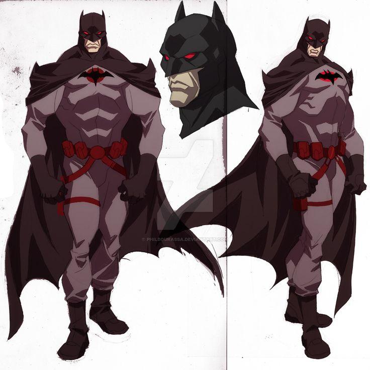 "theartofbeingafan: ""Batman Flashpoint Concept by philbourassa """