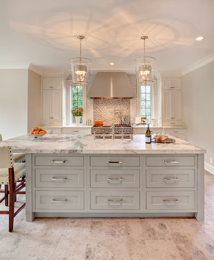 serene kitchen