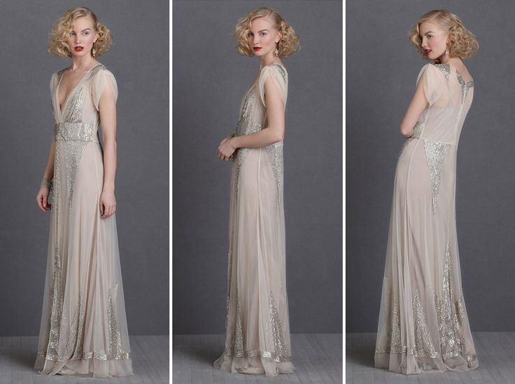 Simple  Non Traditional Wedding Dresses for the Modern Bride via Brit Co