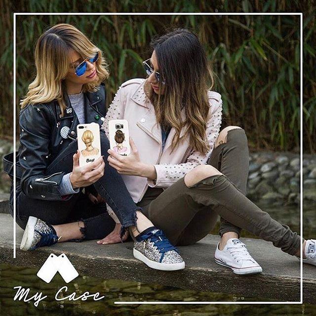 Best friends forever 💞💞💞Disponibile per tutti i modelli di telefono!!!Ordina subito! #mycaseitaly #phonecase #spedizionegratuita #cover