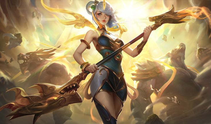 2018 Lunar Revel skins: Empress Lux and Guardian Nasus and Warwick - The Rift Herald