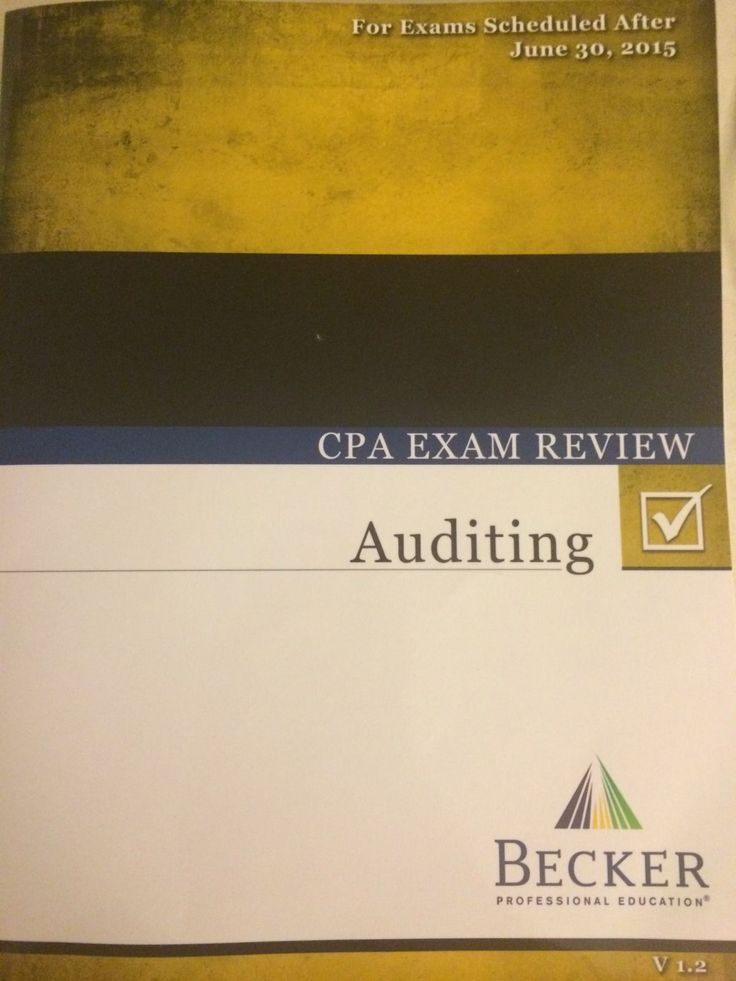2017 becker cpa review auditing