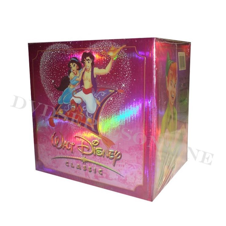 Walt Disney's 100 Years Of Magic 172 Discs DVD Boxset Please? I'll be happy forever.