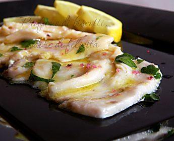 Carpaccio di pesce spada - ricetta di pesce