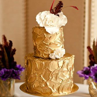 17 Best Images About Orange And Gold Cake On Pinterest