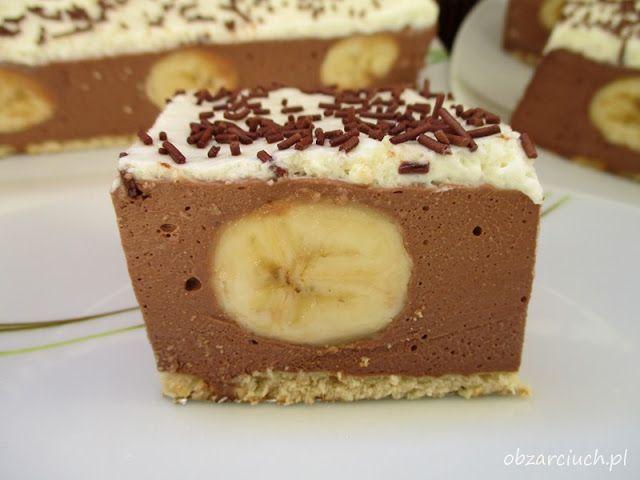Obżarciuch: Ciasto bananowe bez pieczenia